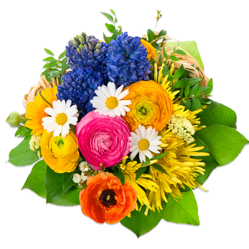Birthday Flowers PNG Image