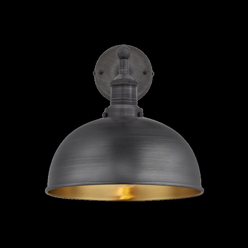 Black Border Golden Interior Lamp Light PNG Image
