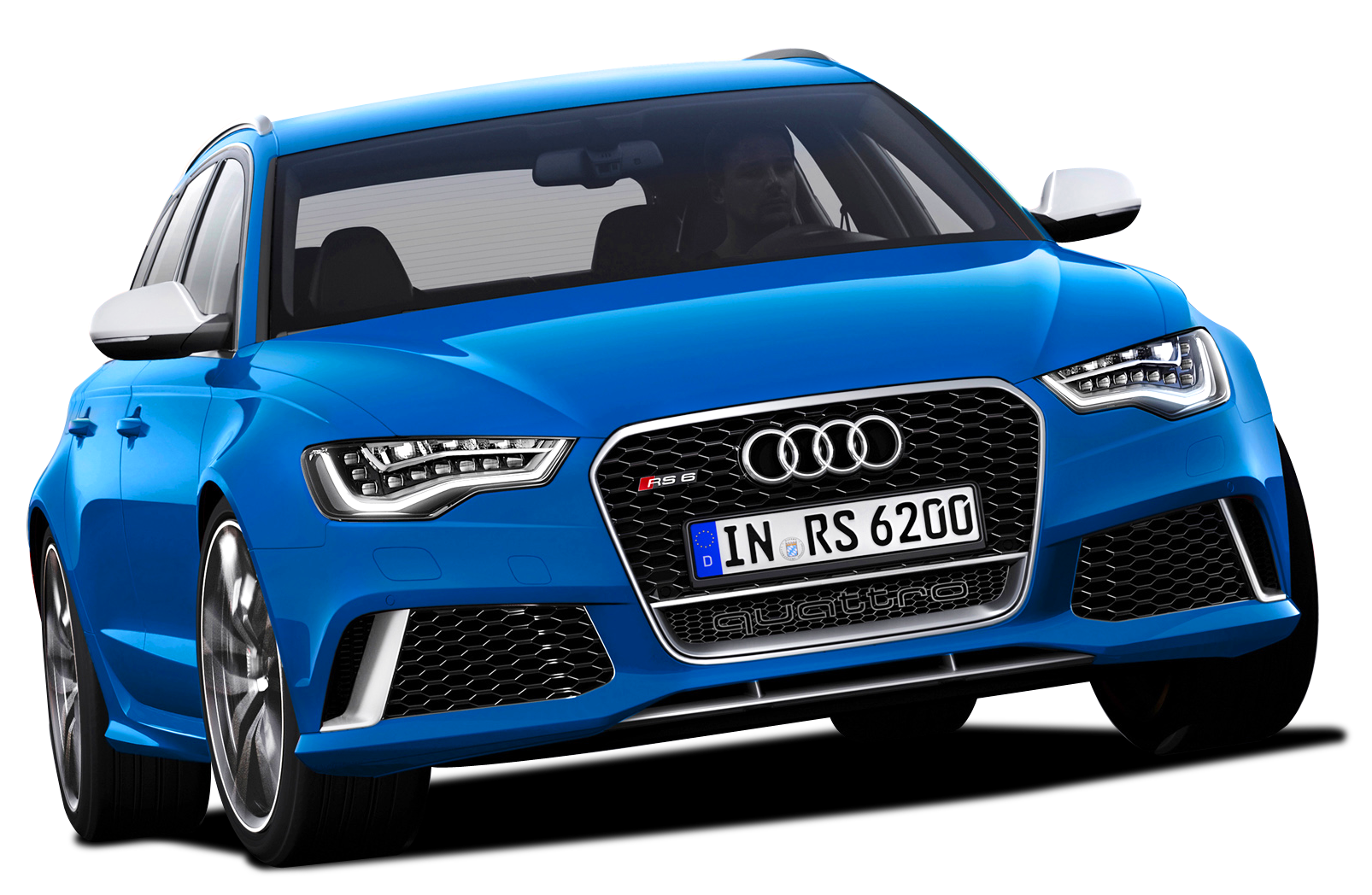 Blue Edition  Audi Luxury Car