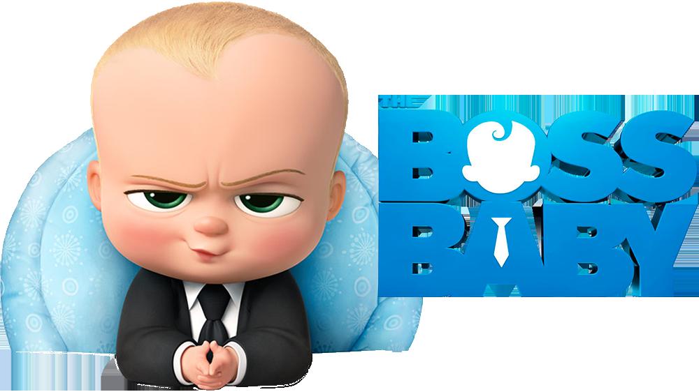 Boss Baby Cartoon PNG Image