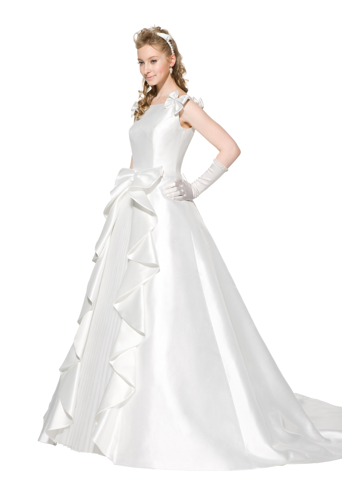 Bride Wear Beautiful White Dress