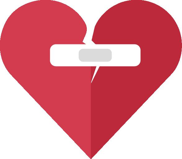 Broken Heart PNG Image
