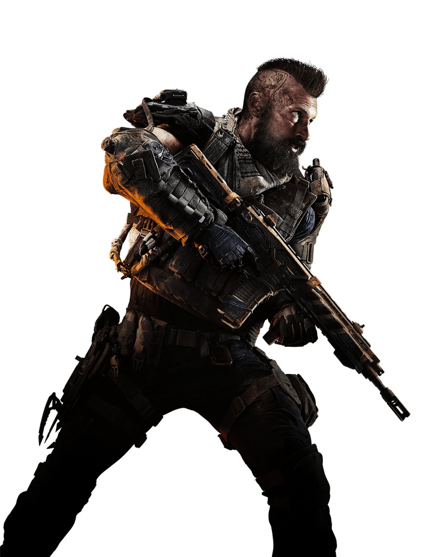 Download Call Of Duty Black Ops 4 Center Soldier Png Image For Free