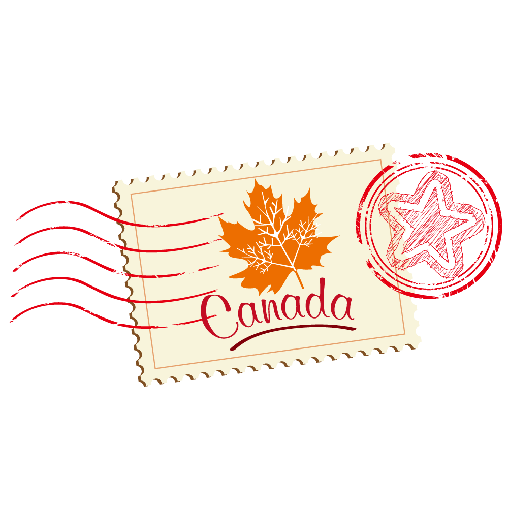 Postage Stamp - Canada PNG Image