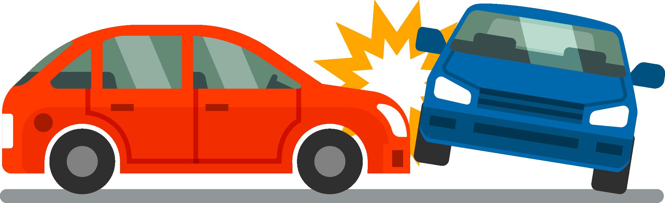 Car hitting another Car