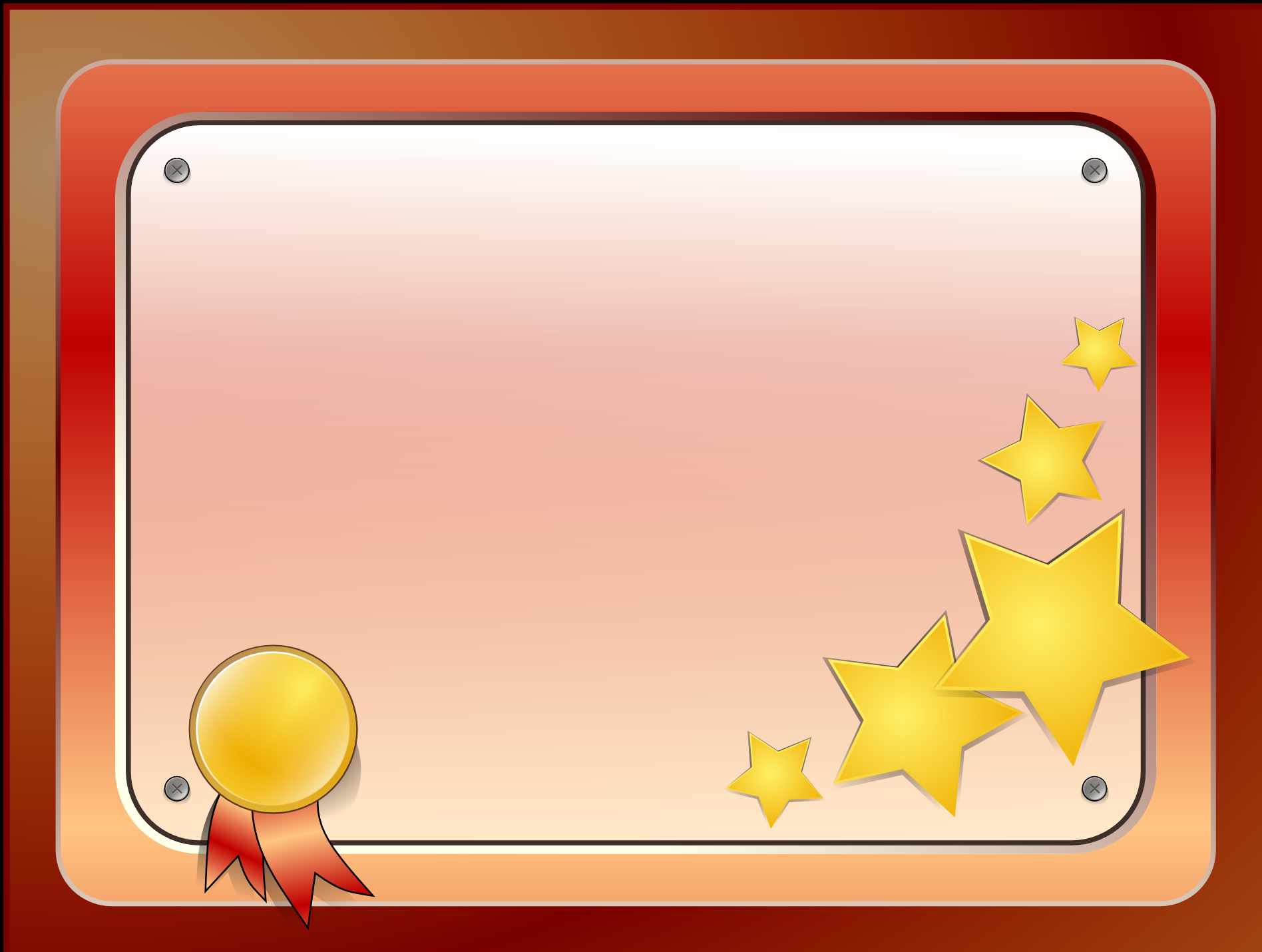 Certificate Template PNG Image