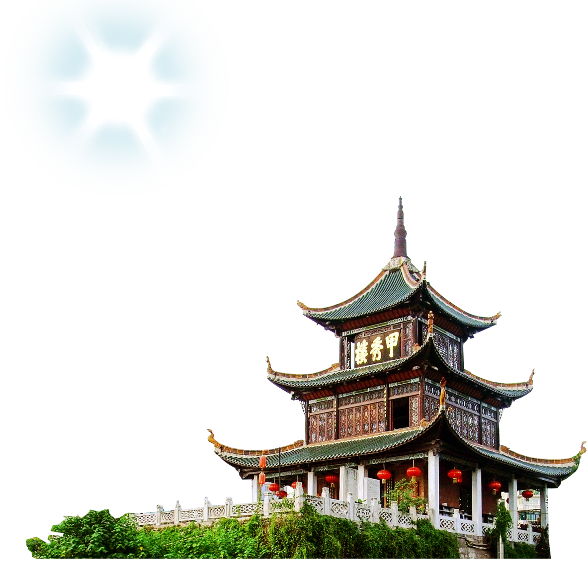 Chinese Architecture PNG Image