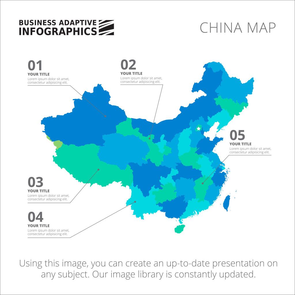 Map of China PNG Image