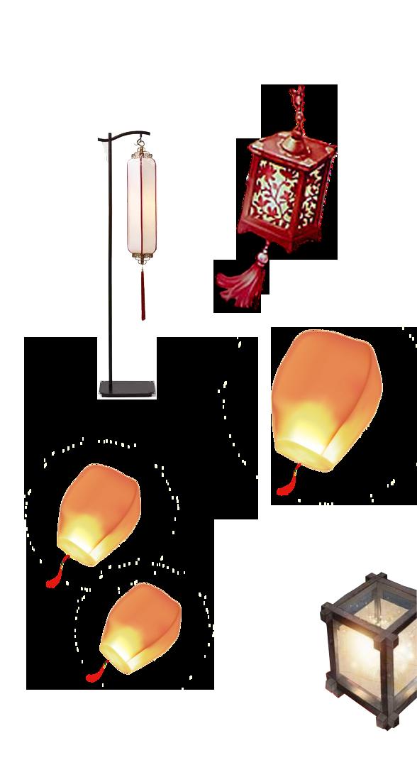 China Lights PNG Image