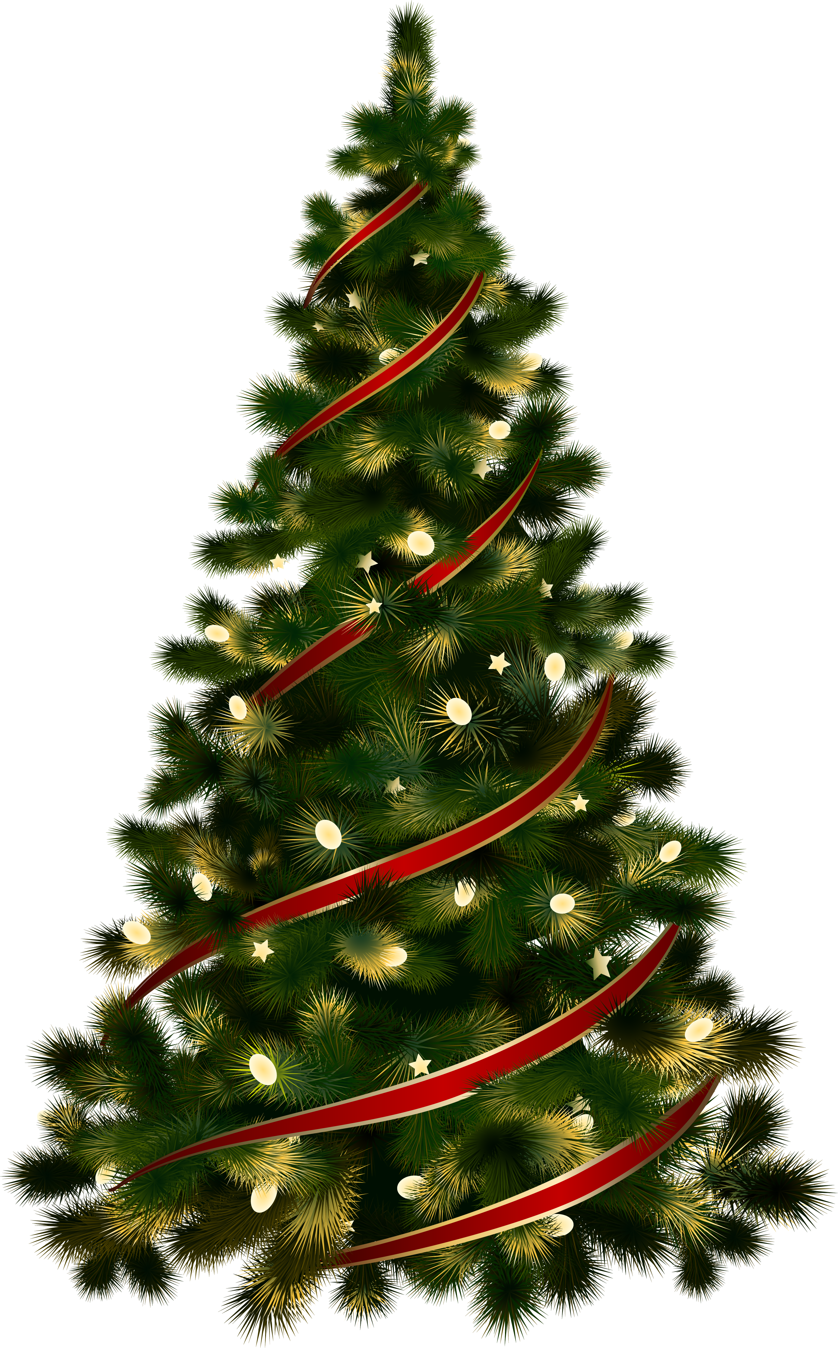 Chirstmas Tree With Decoration