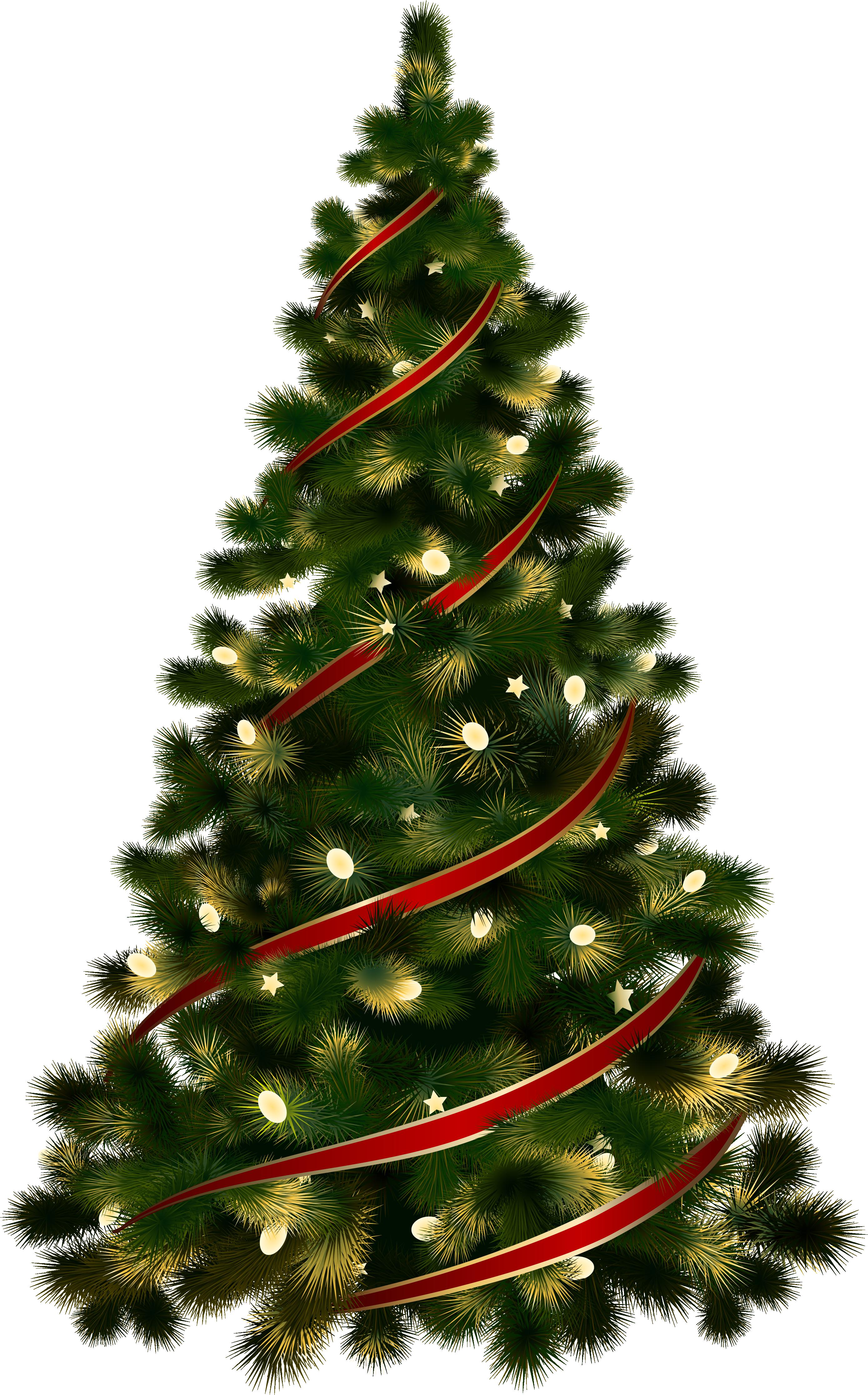 Holiday Christmas Tree PNG Image