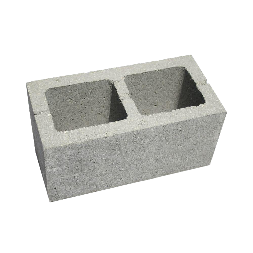 Concrete Block with holes PNG Image