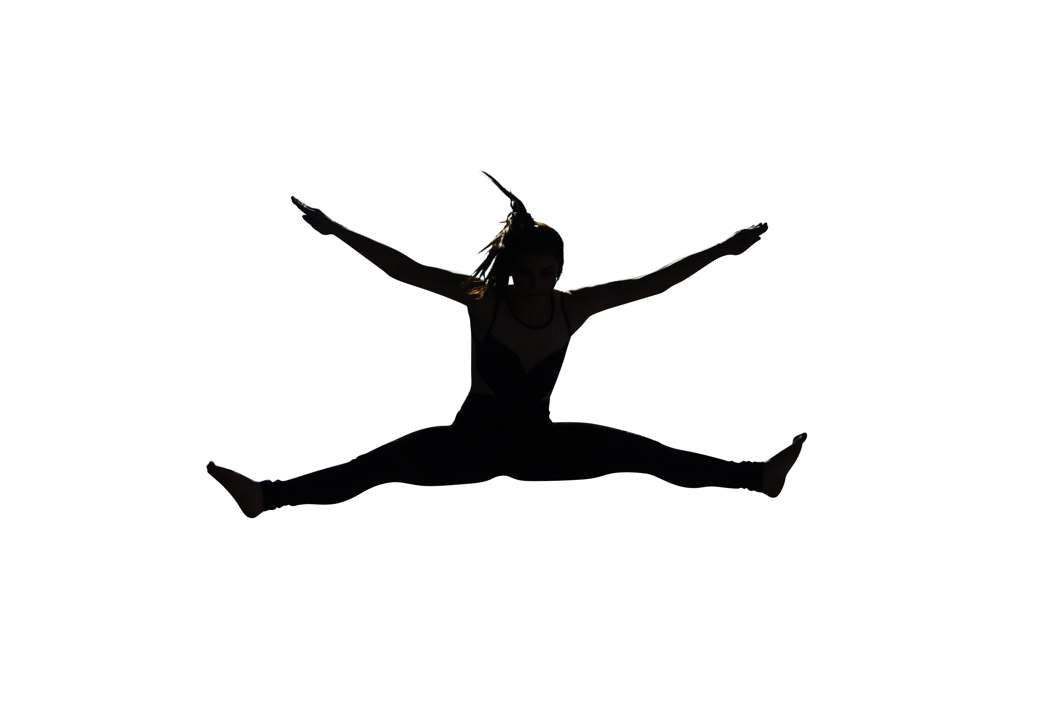 Dancing Girl PNG Image