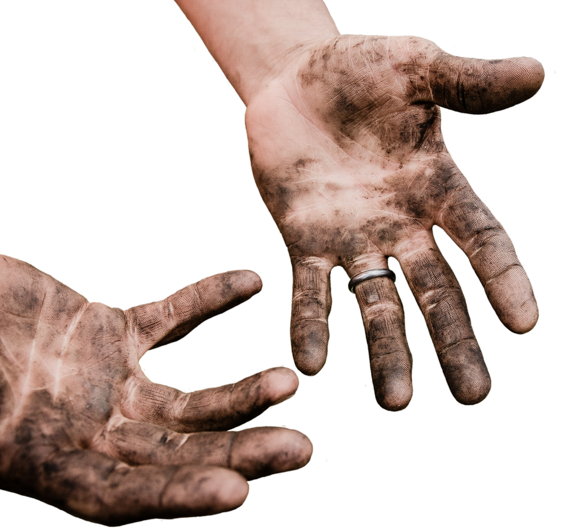 Dirty Hands PNG Image