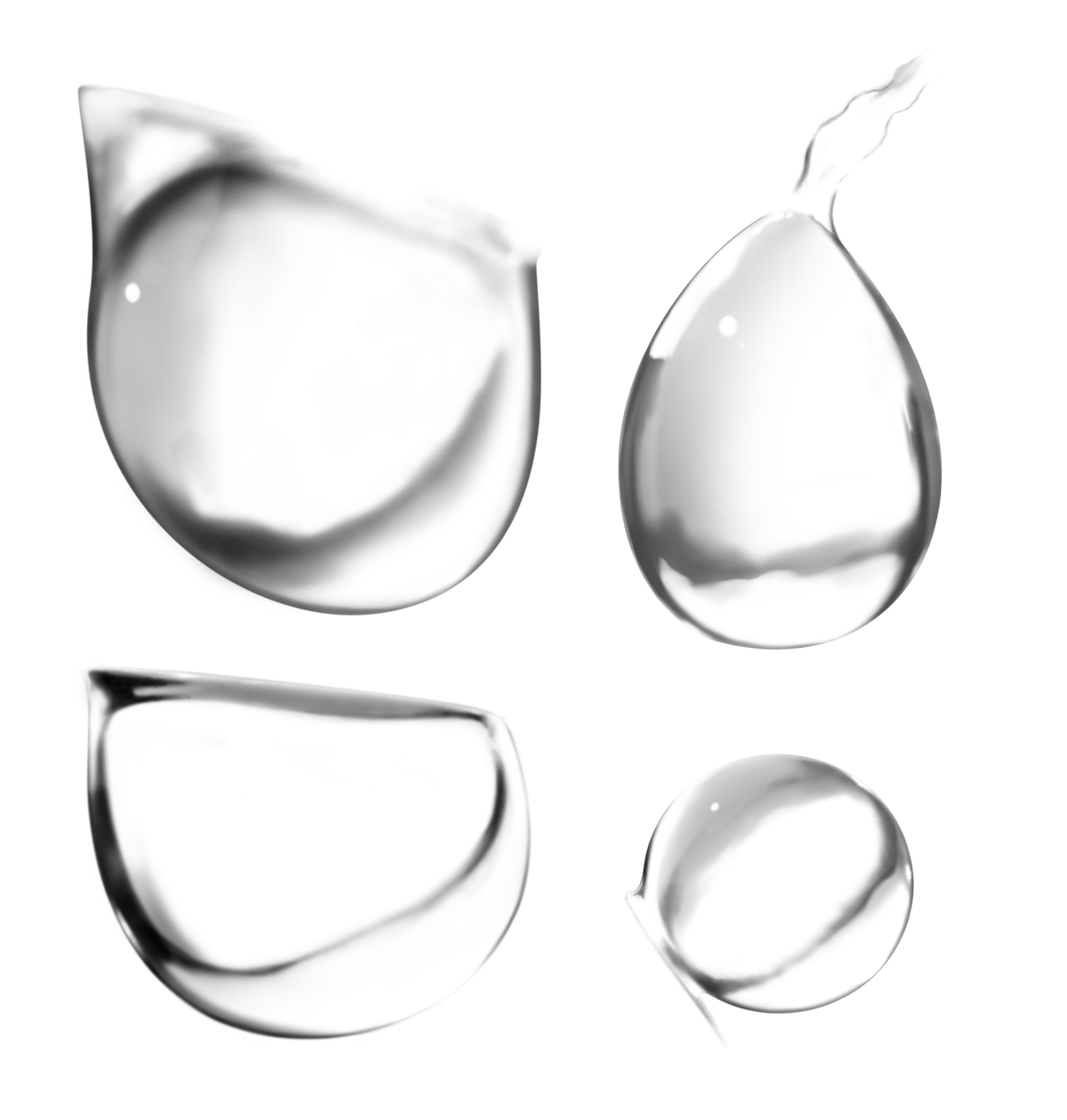 Droplets PNG Image
