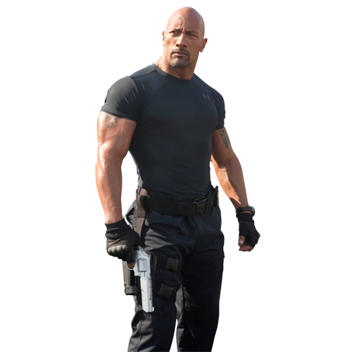 Dwayne Johnson ( Fast & Furious)