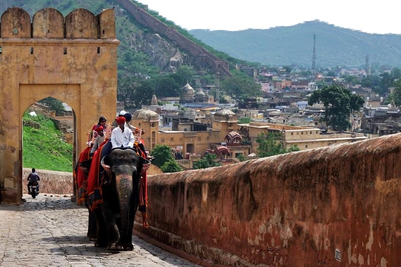 Elephant Ride - India PNG Image