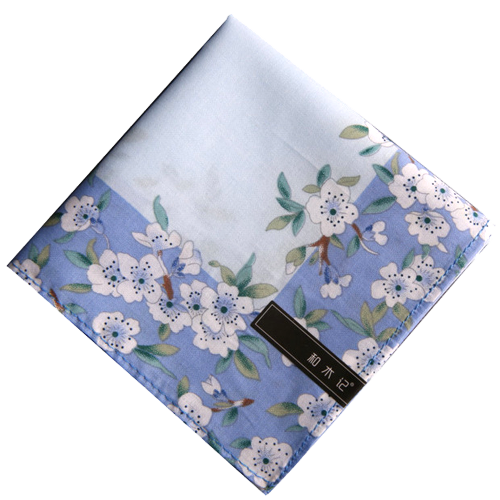 Flowers square Handkerchief PNG Image