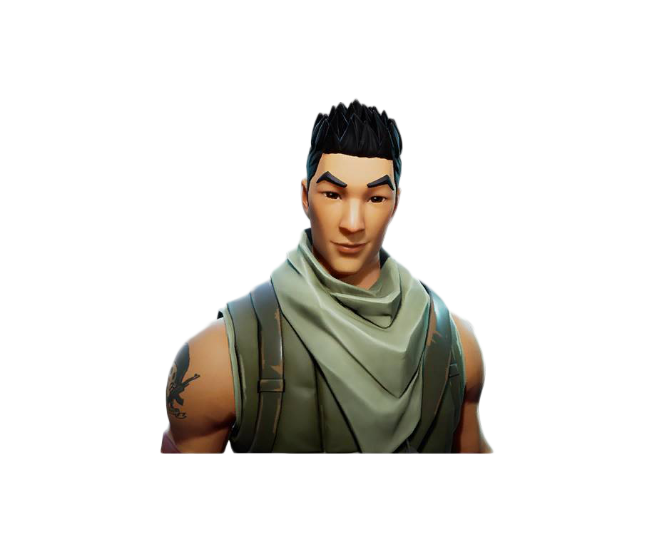 Fornite Asian Avatar