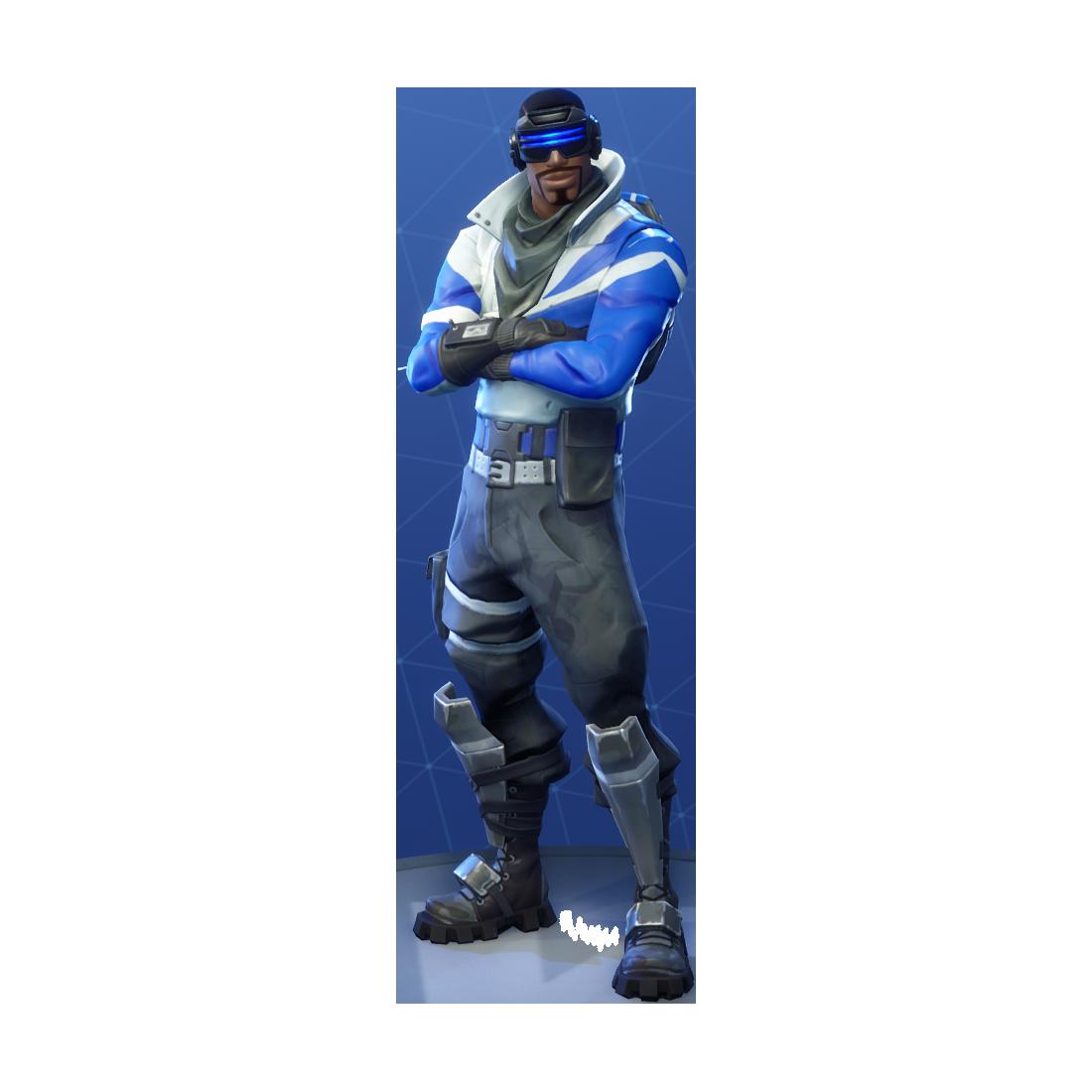Fortnite Blue Striker