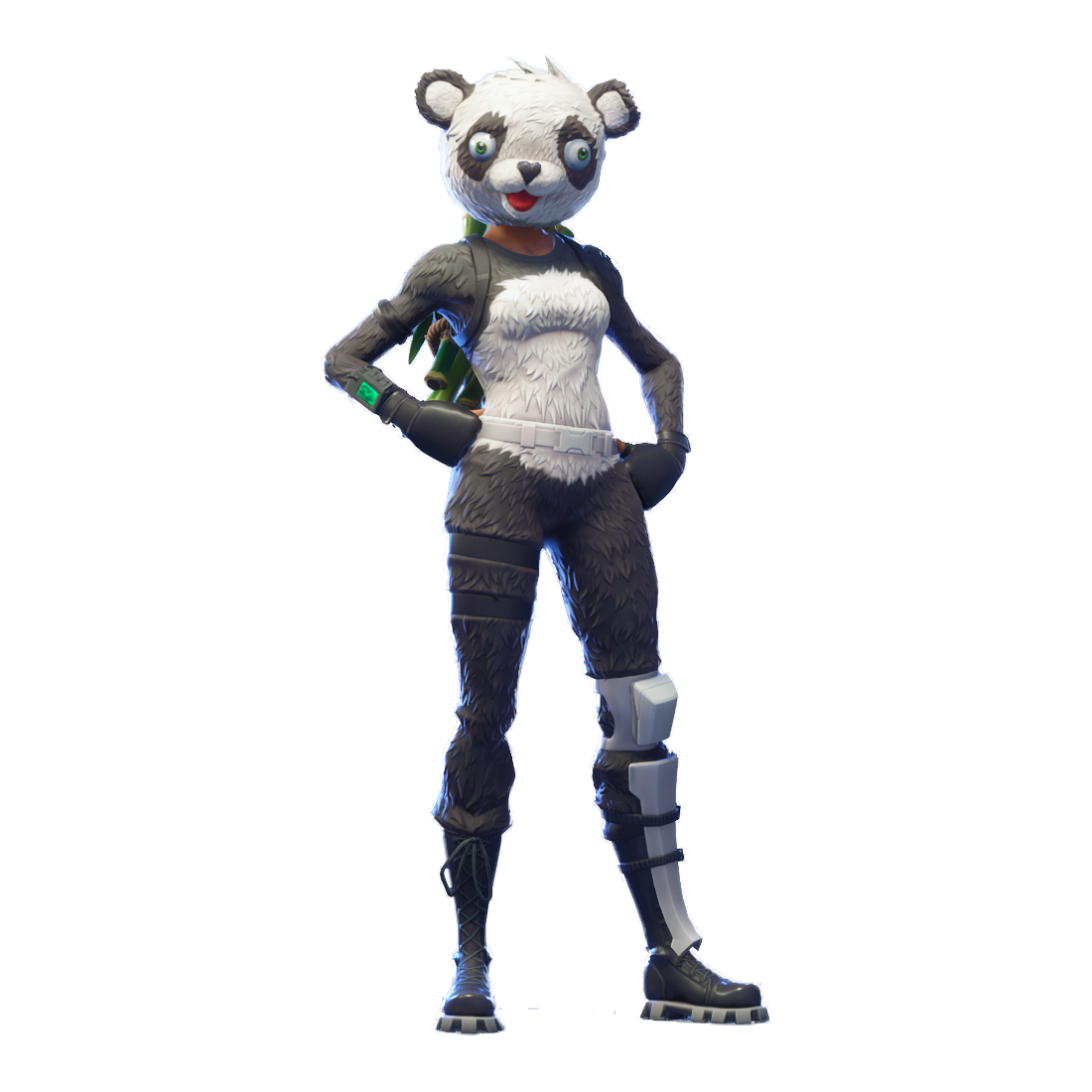 Fortnite P A N D A Team Leader Png Image For Free Download