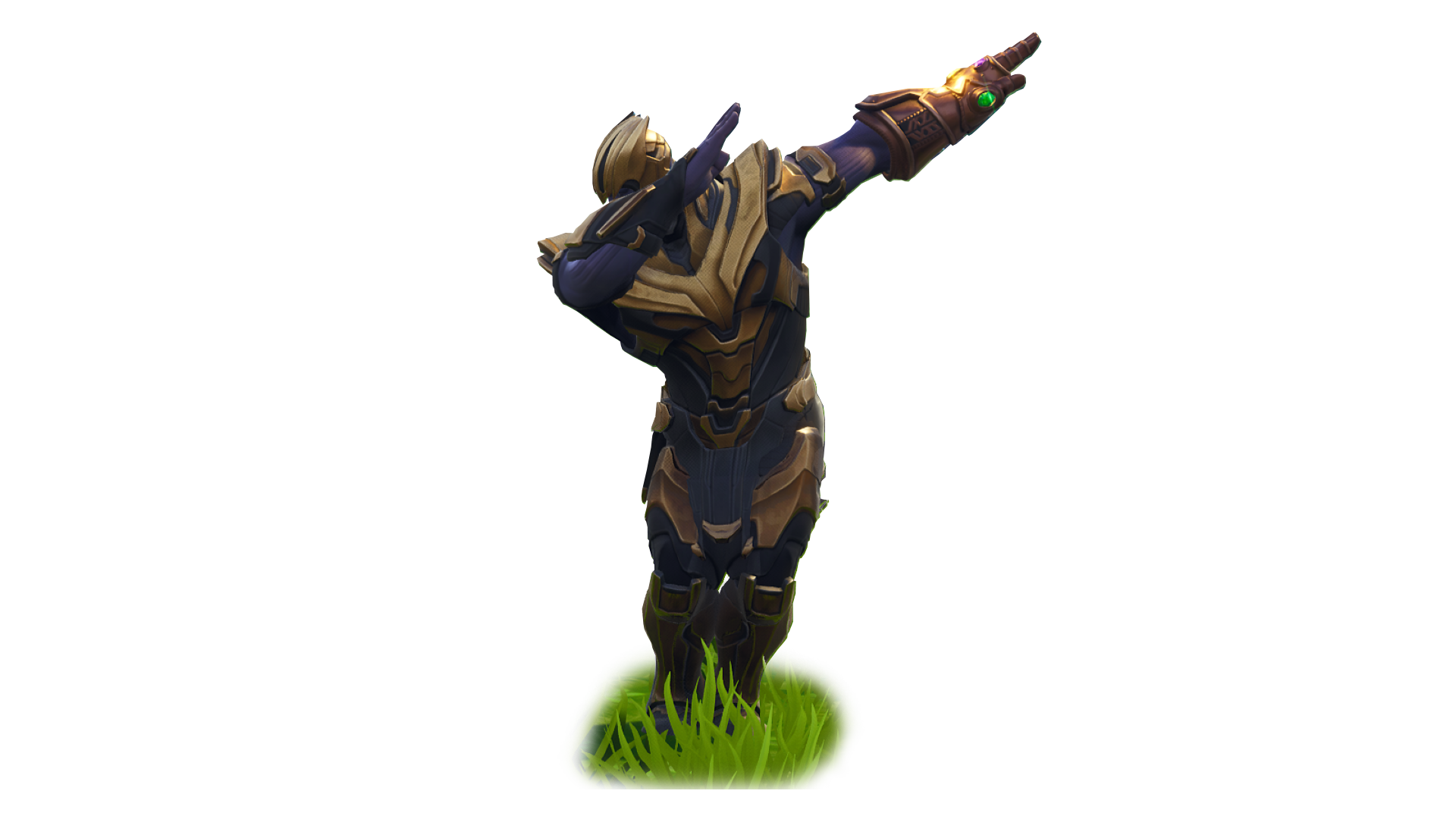 Fortnite Thanos Dab PNG Image