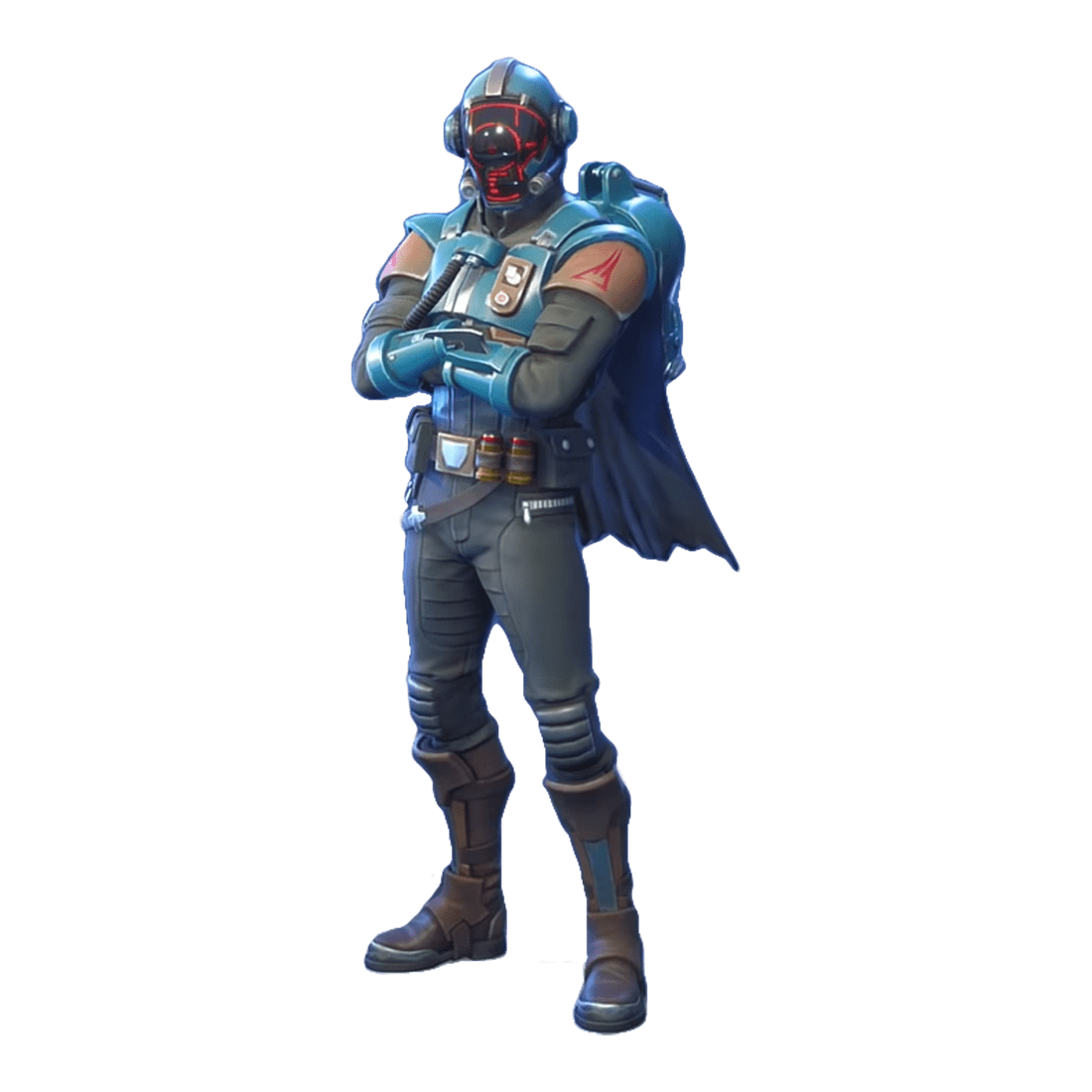 Fortnite Visitor skin PNG Image
