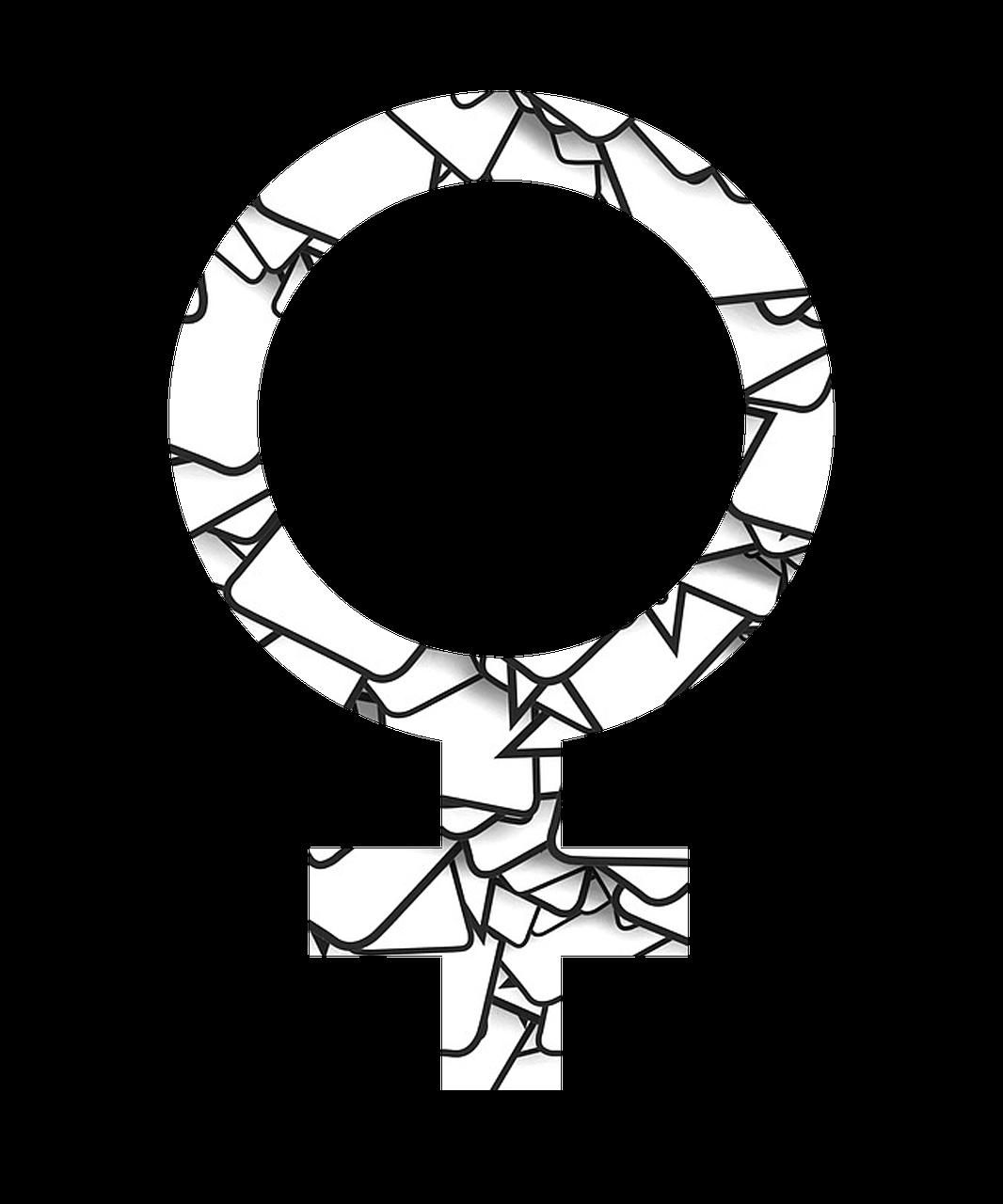 Gender Sign of Female PNG Image