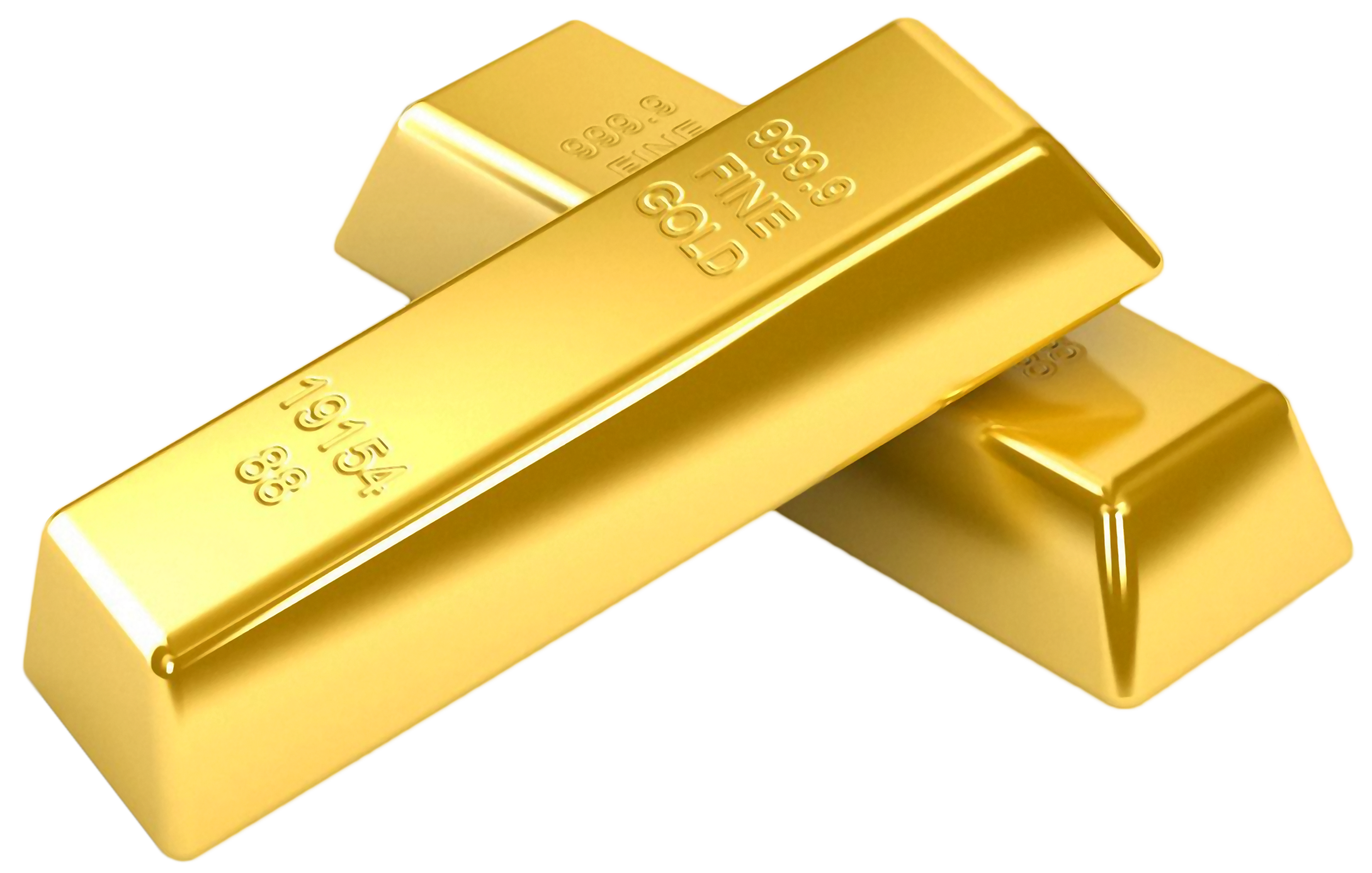 Gold Biscuits PNG Image
