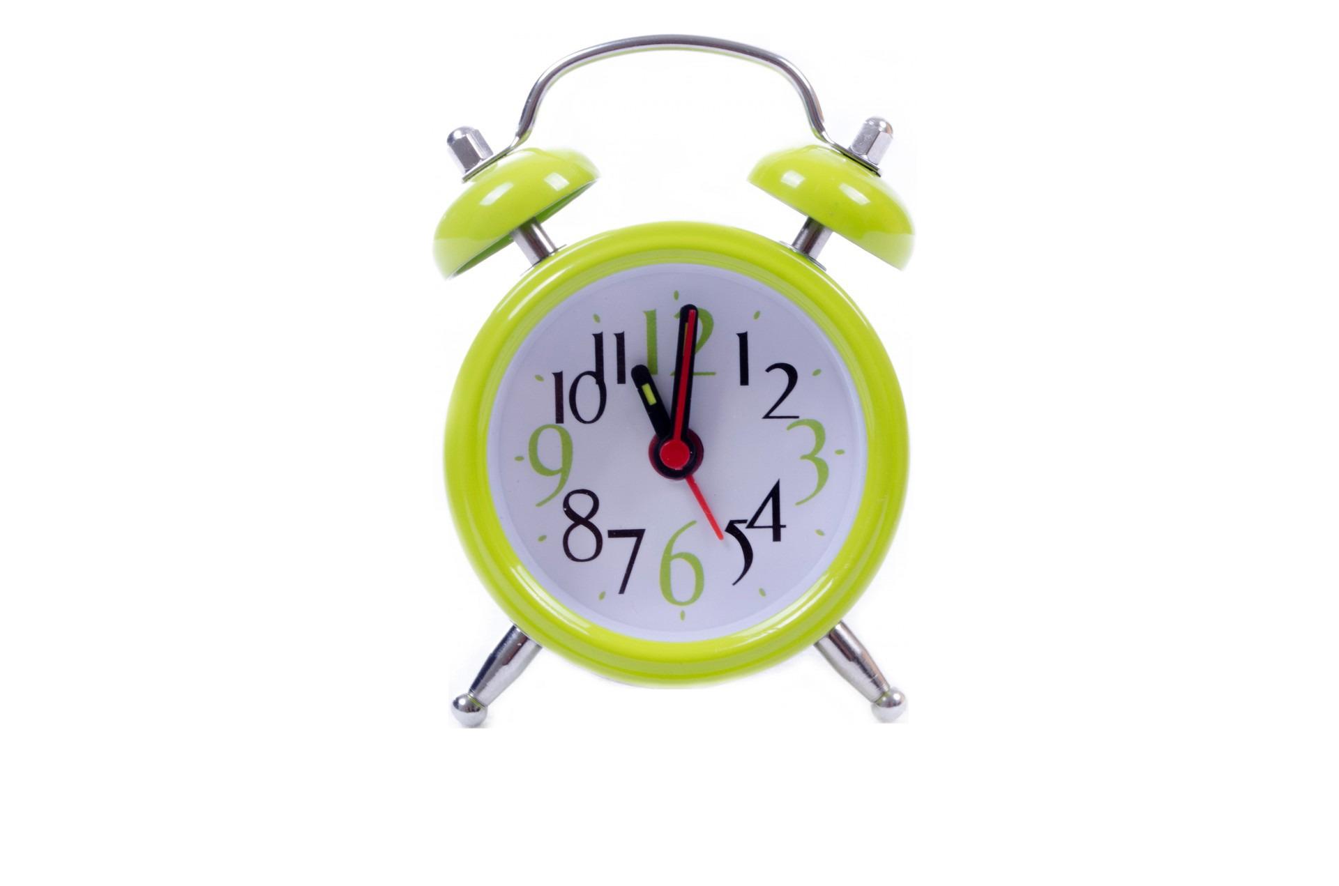 Green Cute Clock