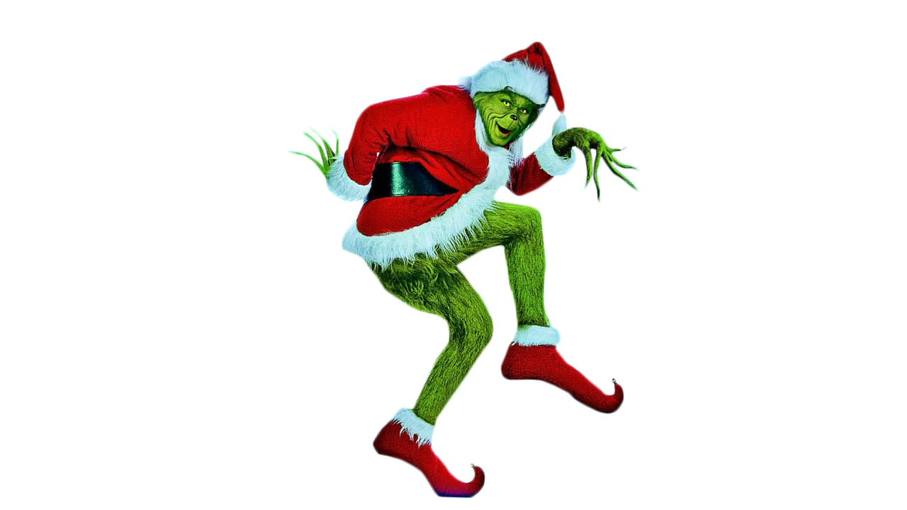 Grinch Dancing PNG Image