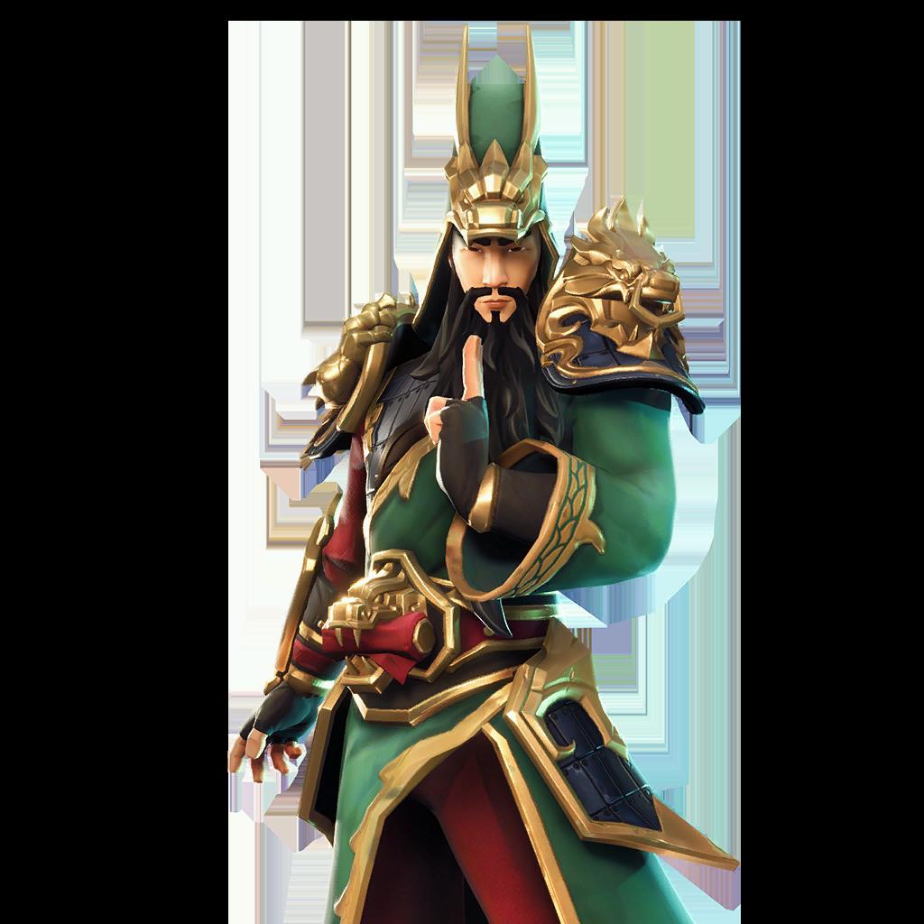 Guan Yu Skin Fortnite Full Body