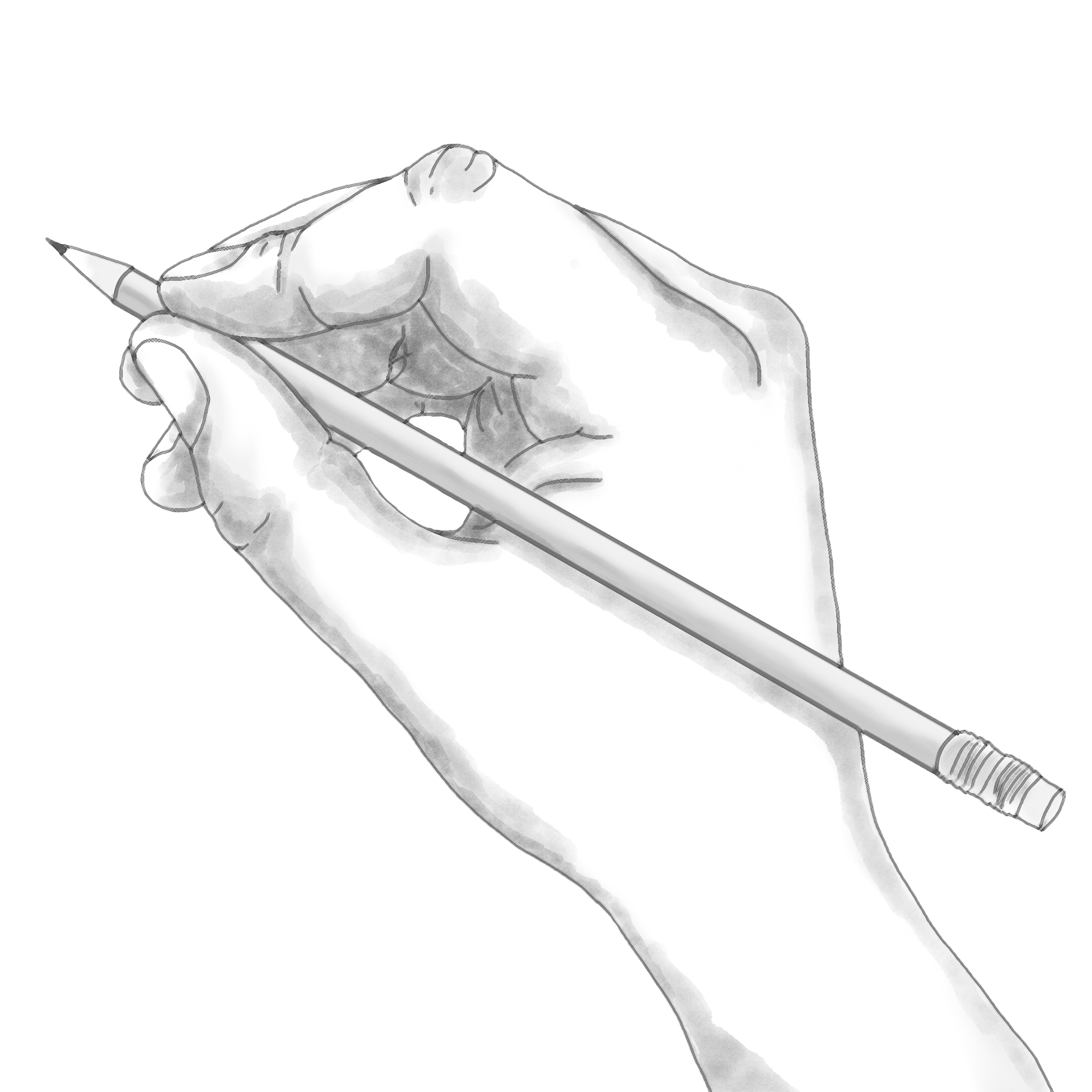 Hand Draw Art PNG Image