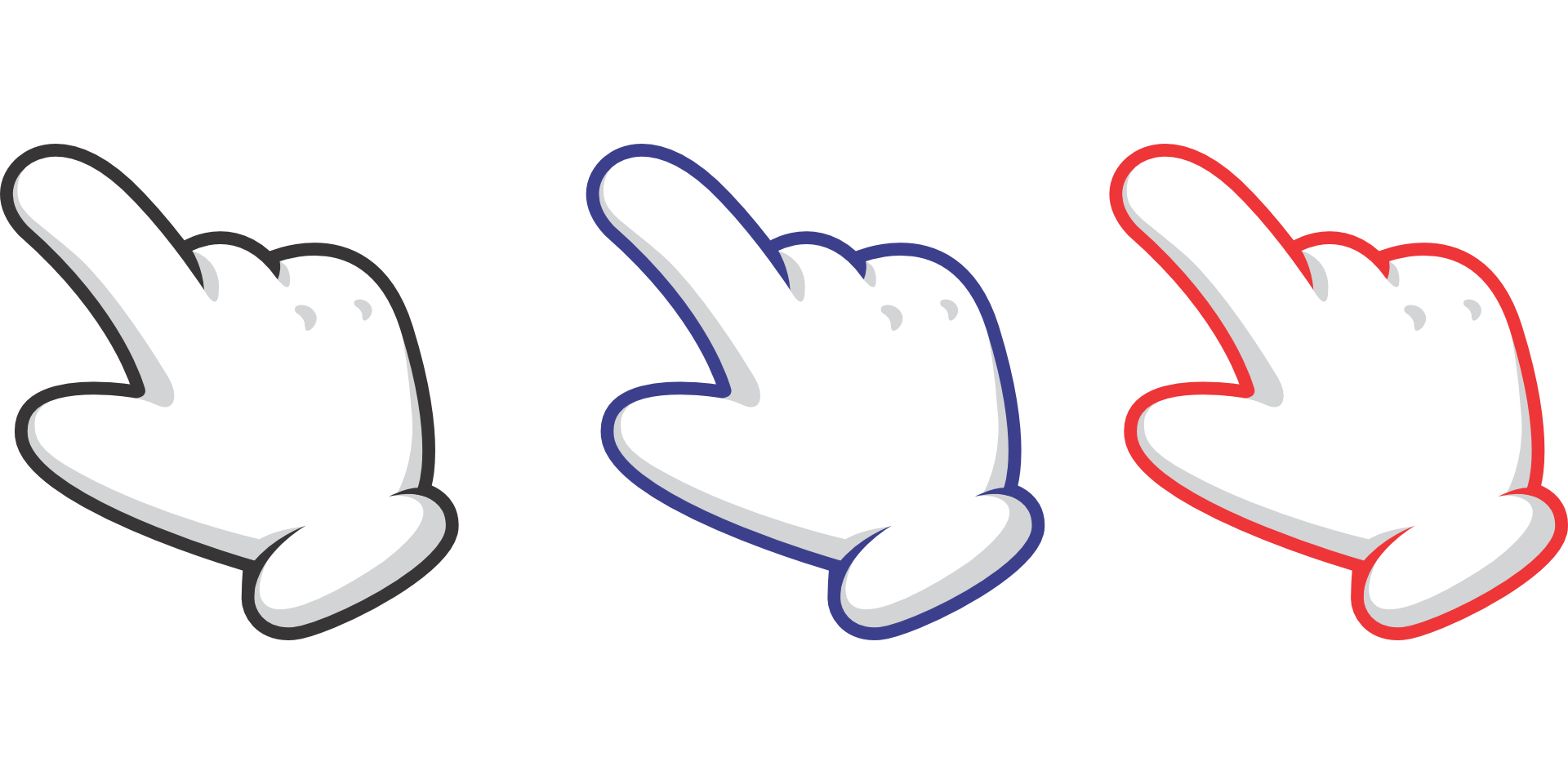 Hand Pointer PNG Image