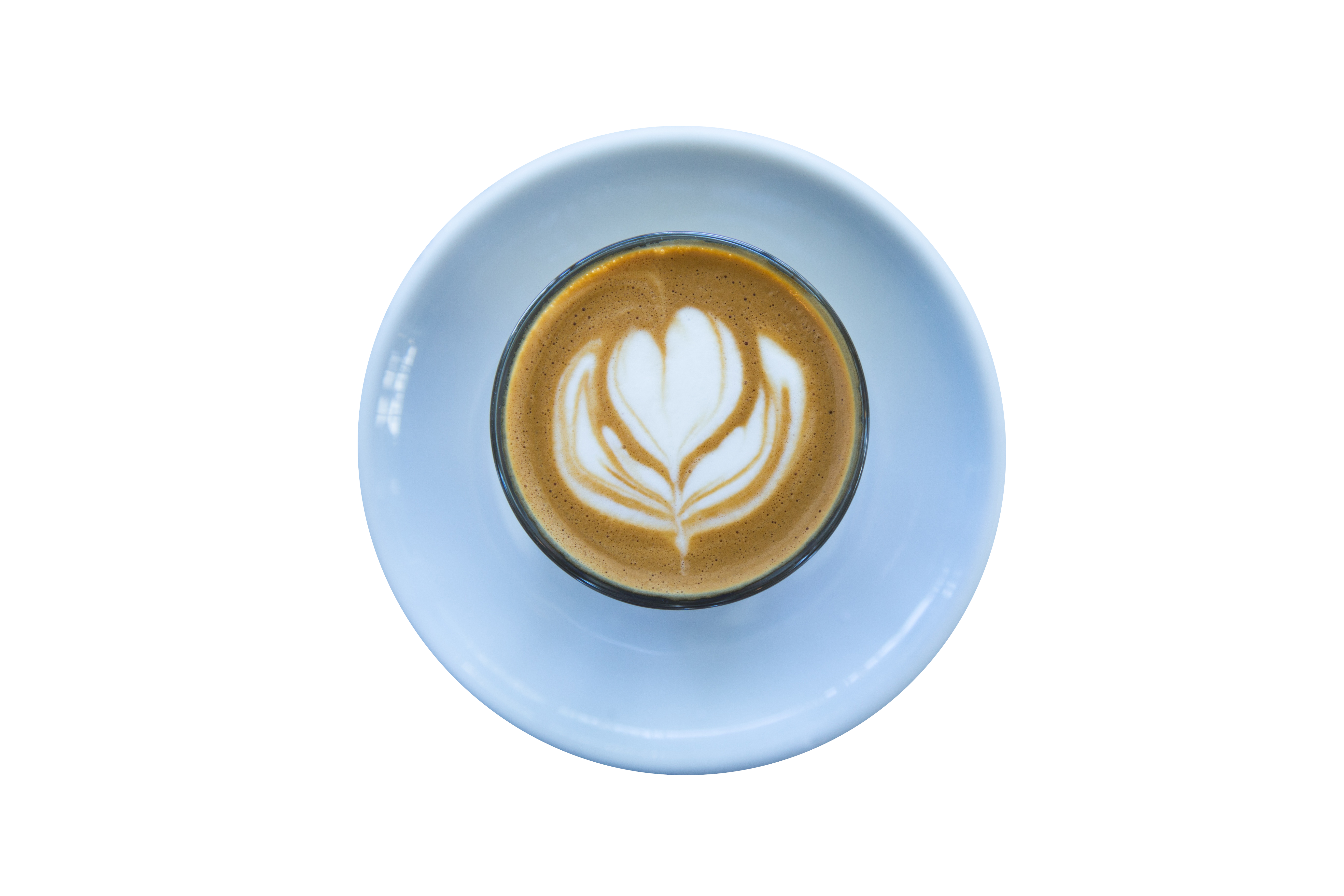 Heart Design in Coffee PNG Image