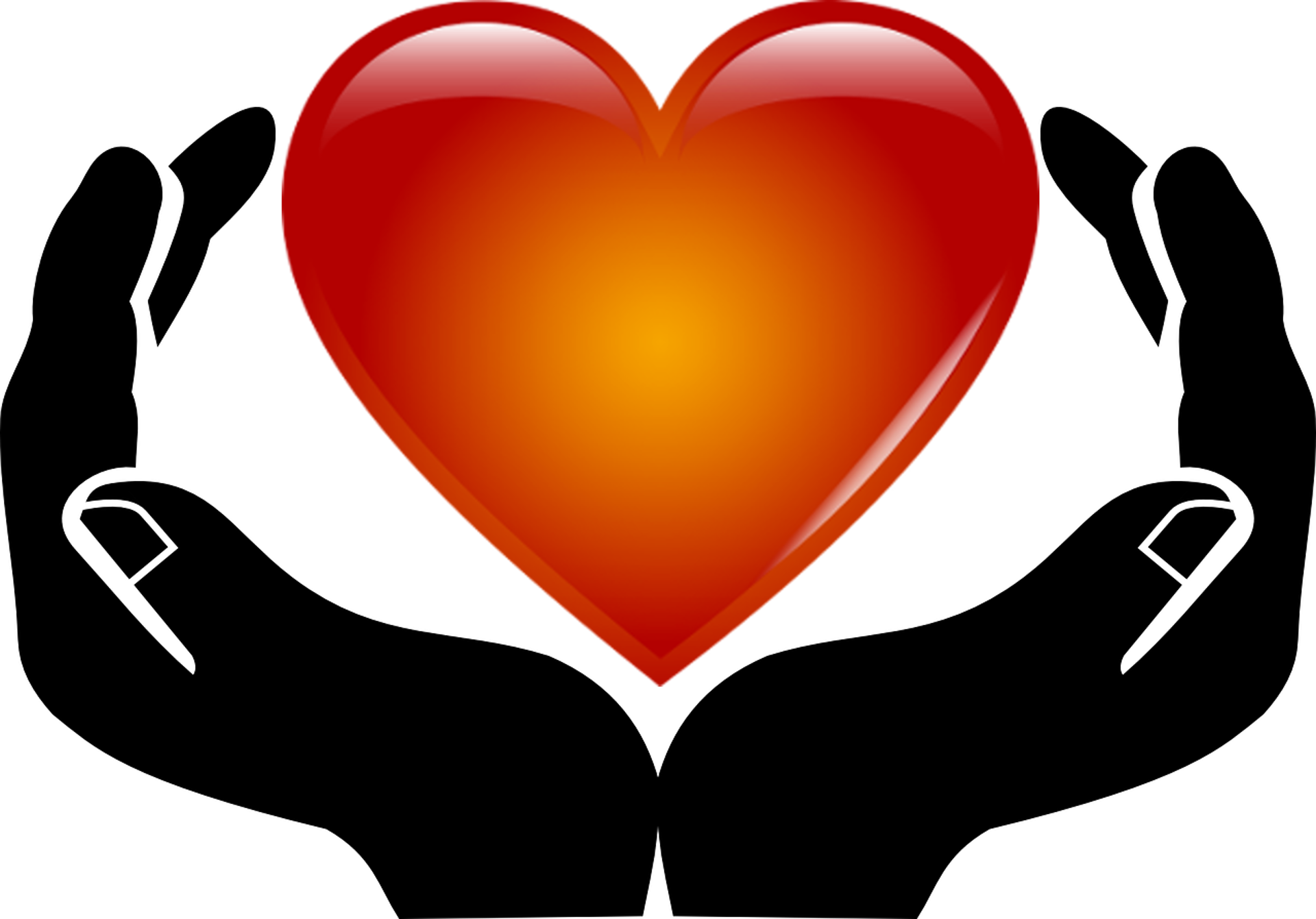 Heart in Hands PNG Image