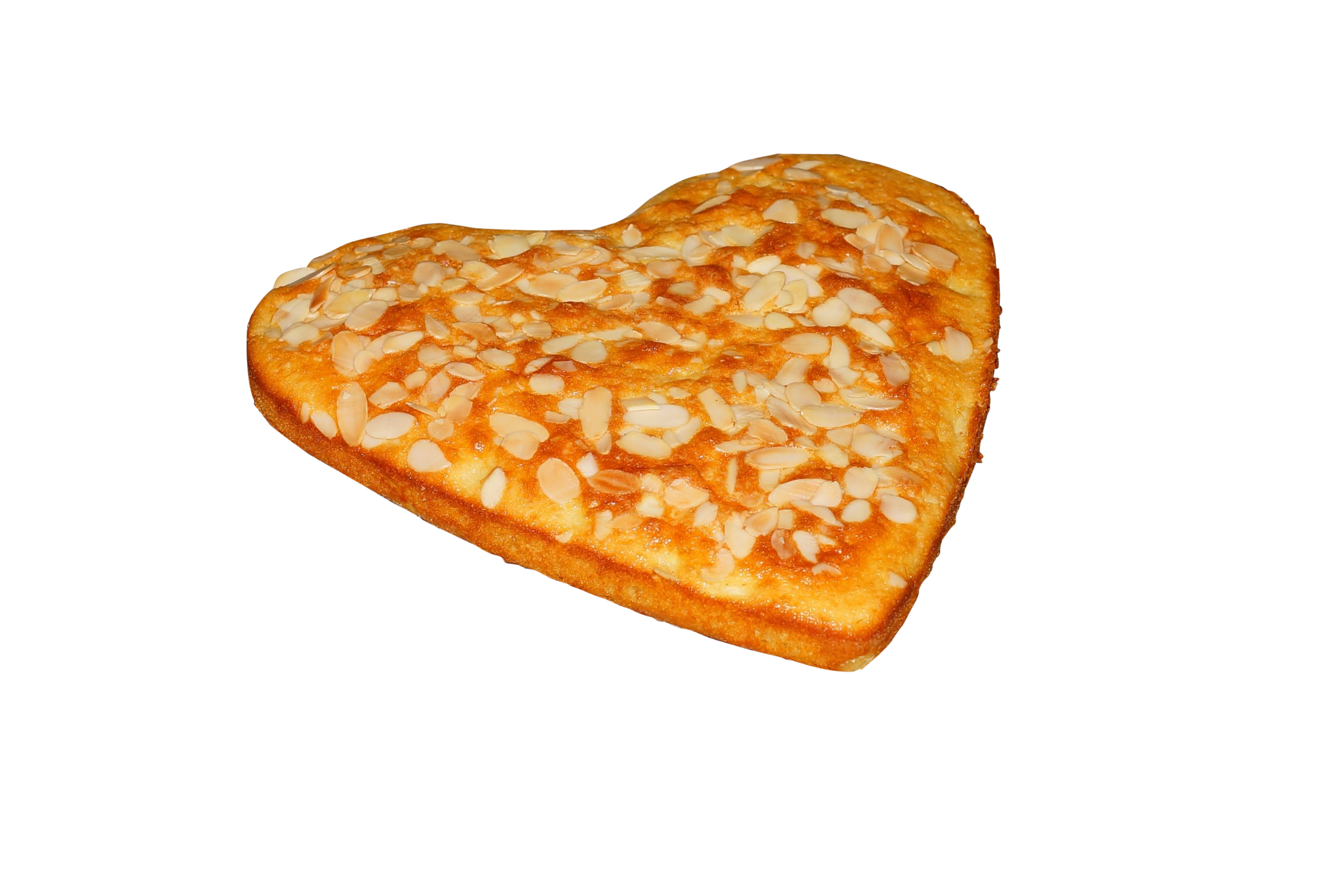 Heart Shaped Nuts Cake PNG Image