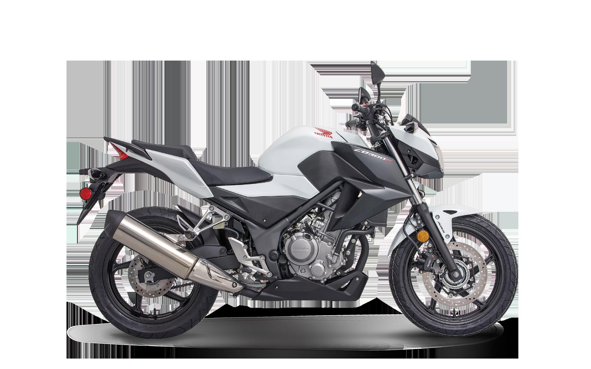 Honda CB300R 2019 Black White PNG Image