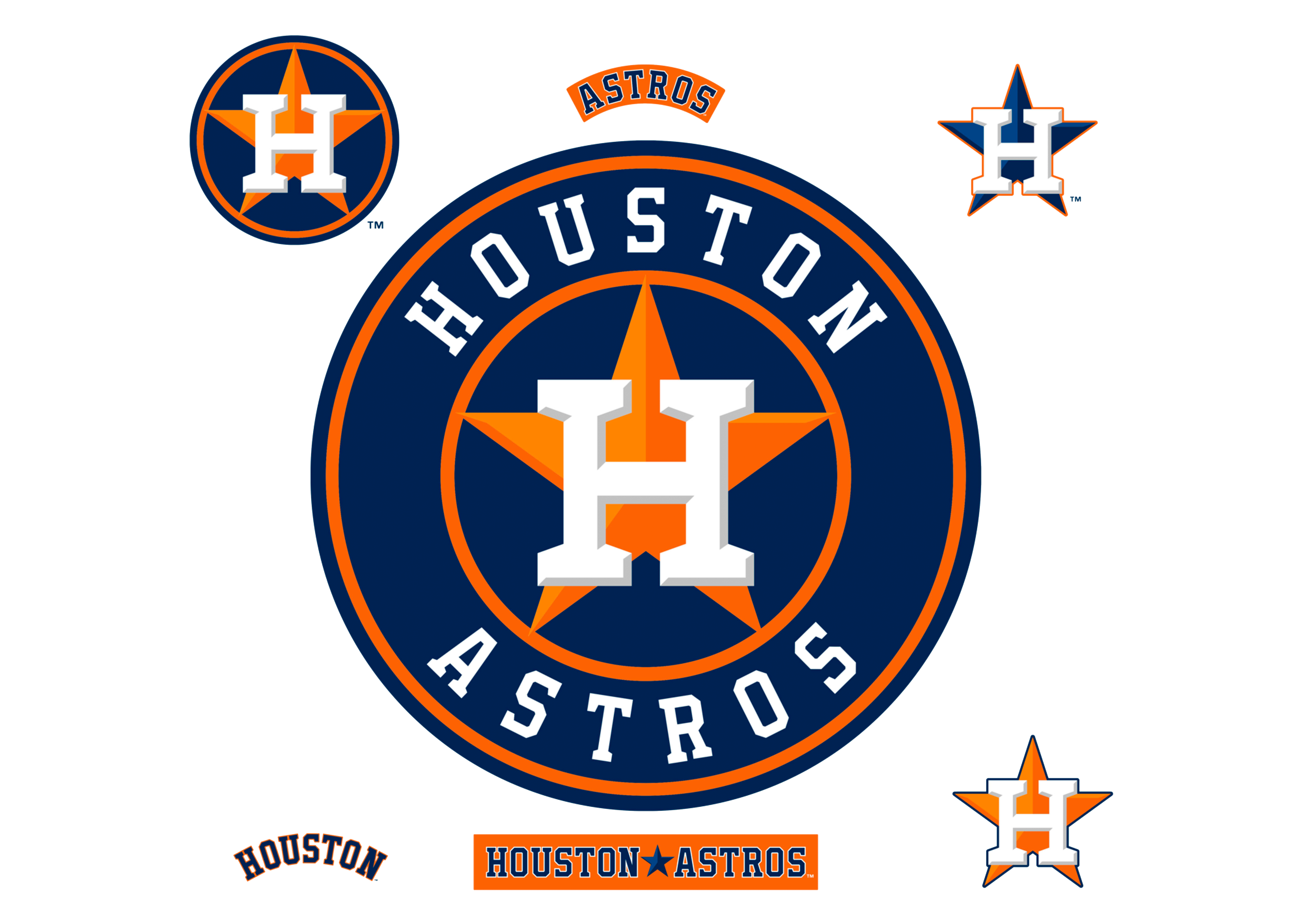 Houston Astros All Logos