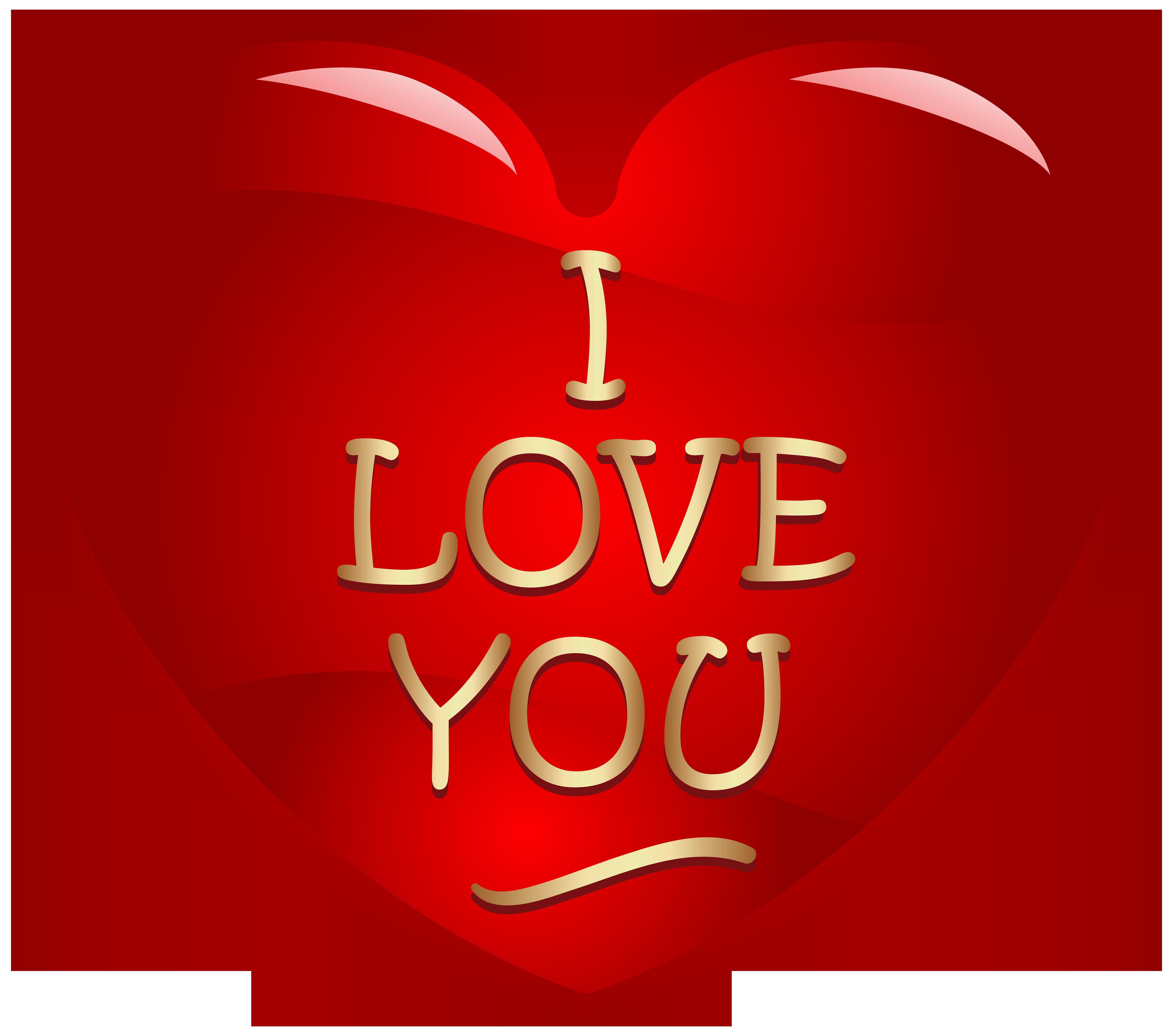 I Love You Written in Heart