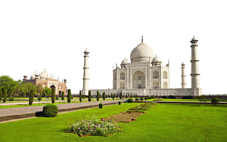 Taj Mahal - India PNG Image