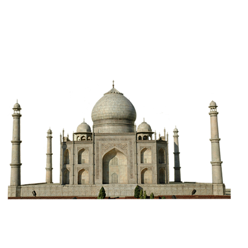 Landmark Building in India PNG Image
