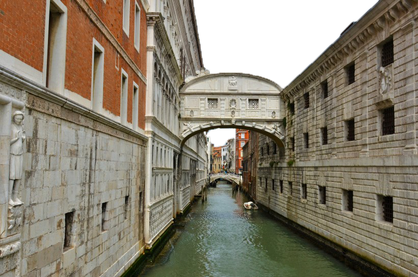 Italy Houses seperated by Water PNG Image