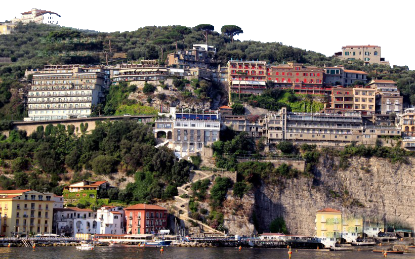 Houses on a Hill – Italy