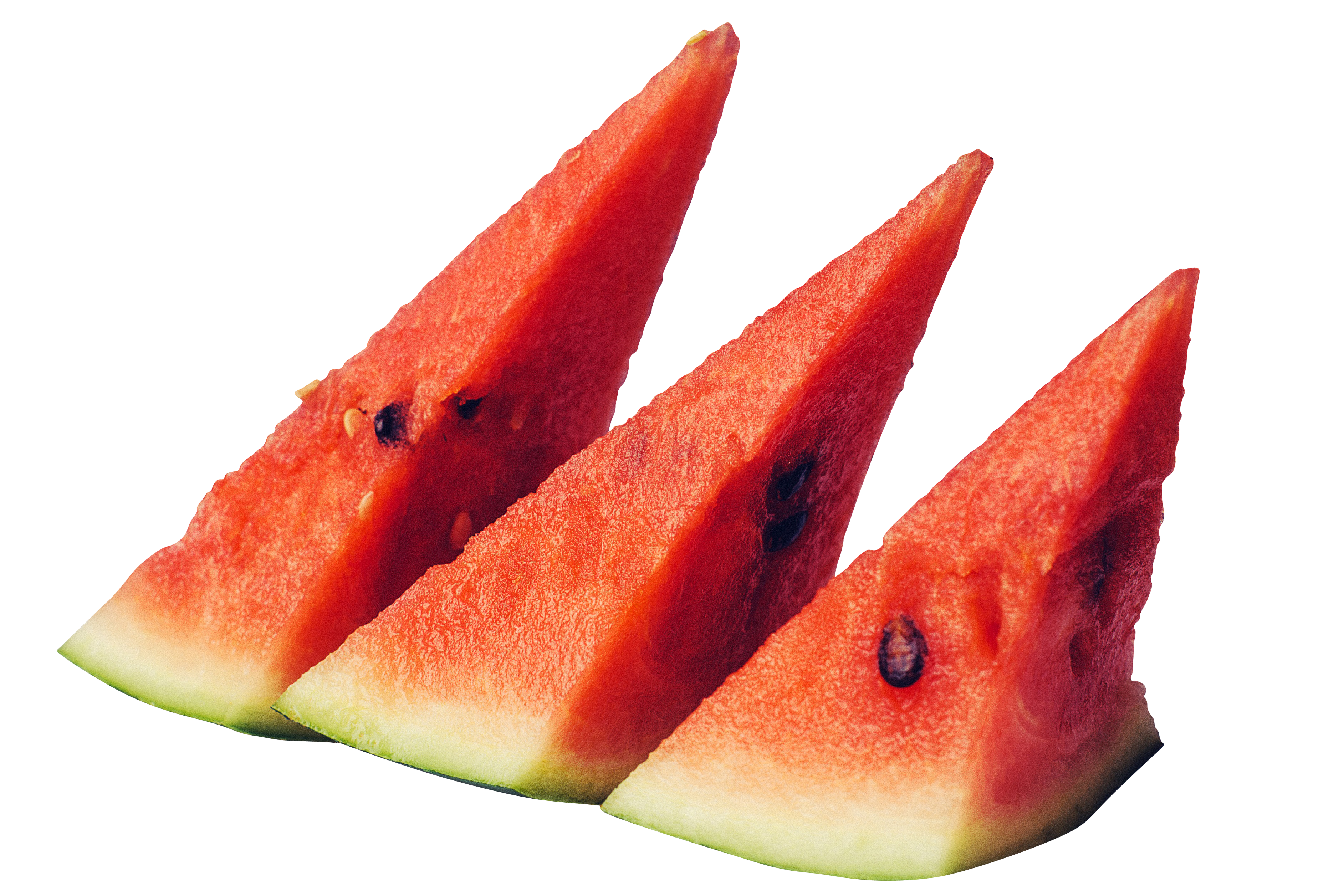 juicy sliced watermelon PNG Image