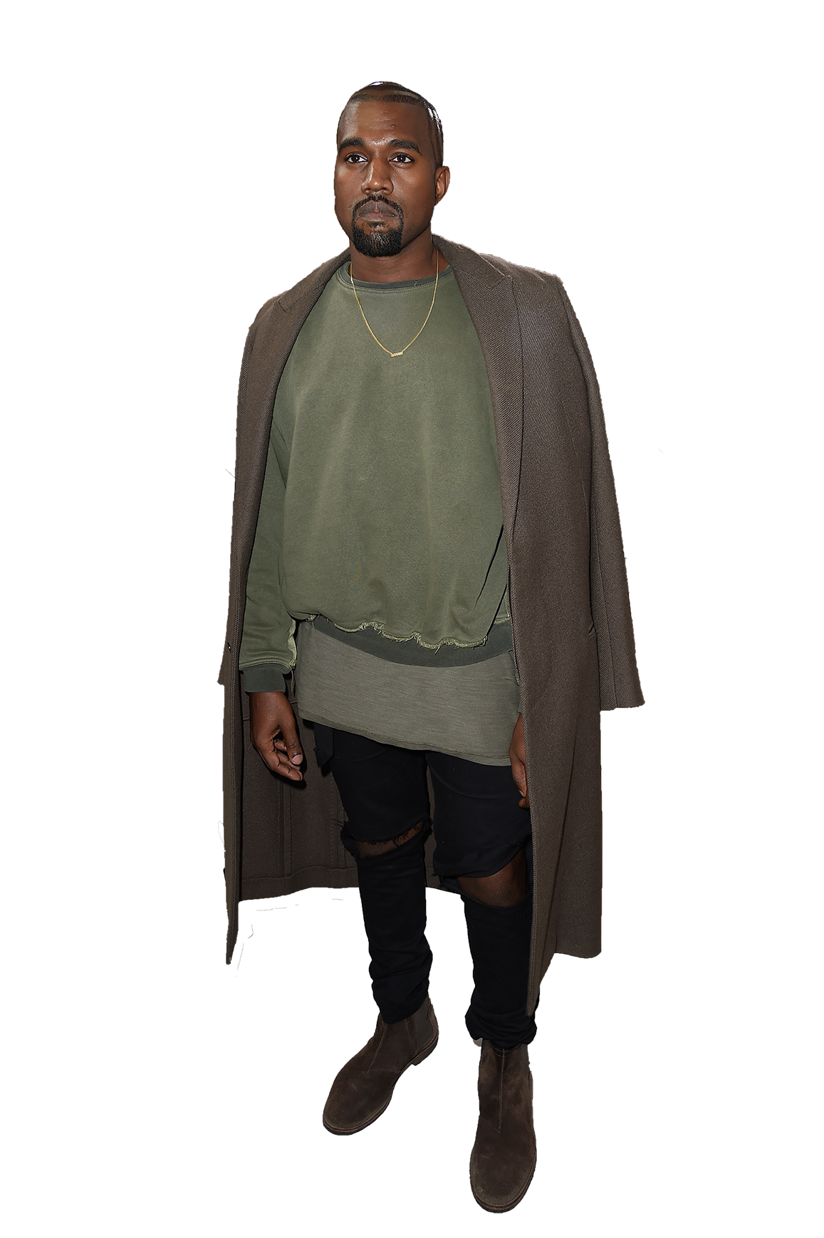 Kanye West Standing PNG Image