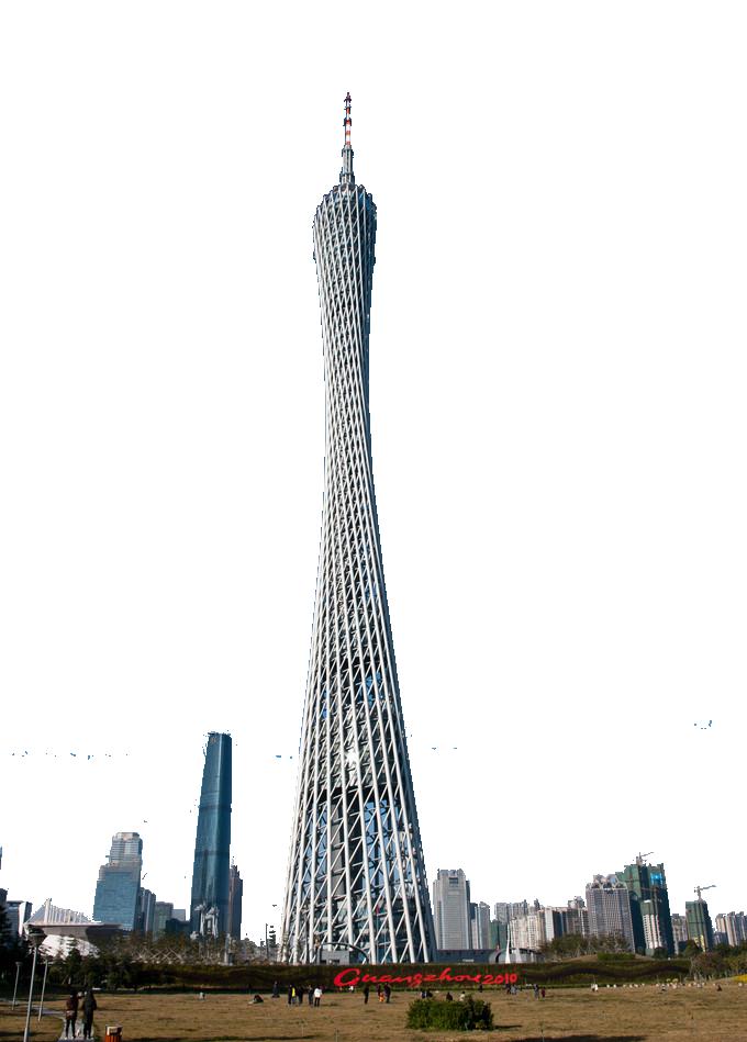 Guangzhou Tower - China PNG Image