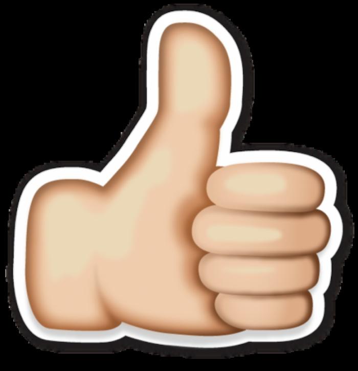Like Emoji Thumbs up