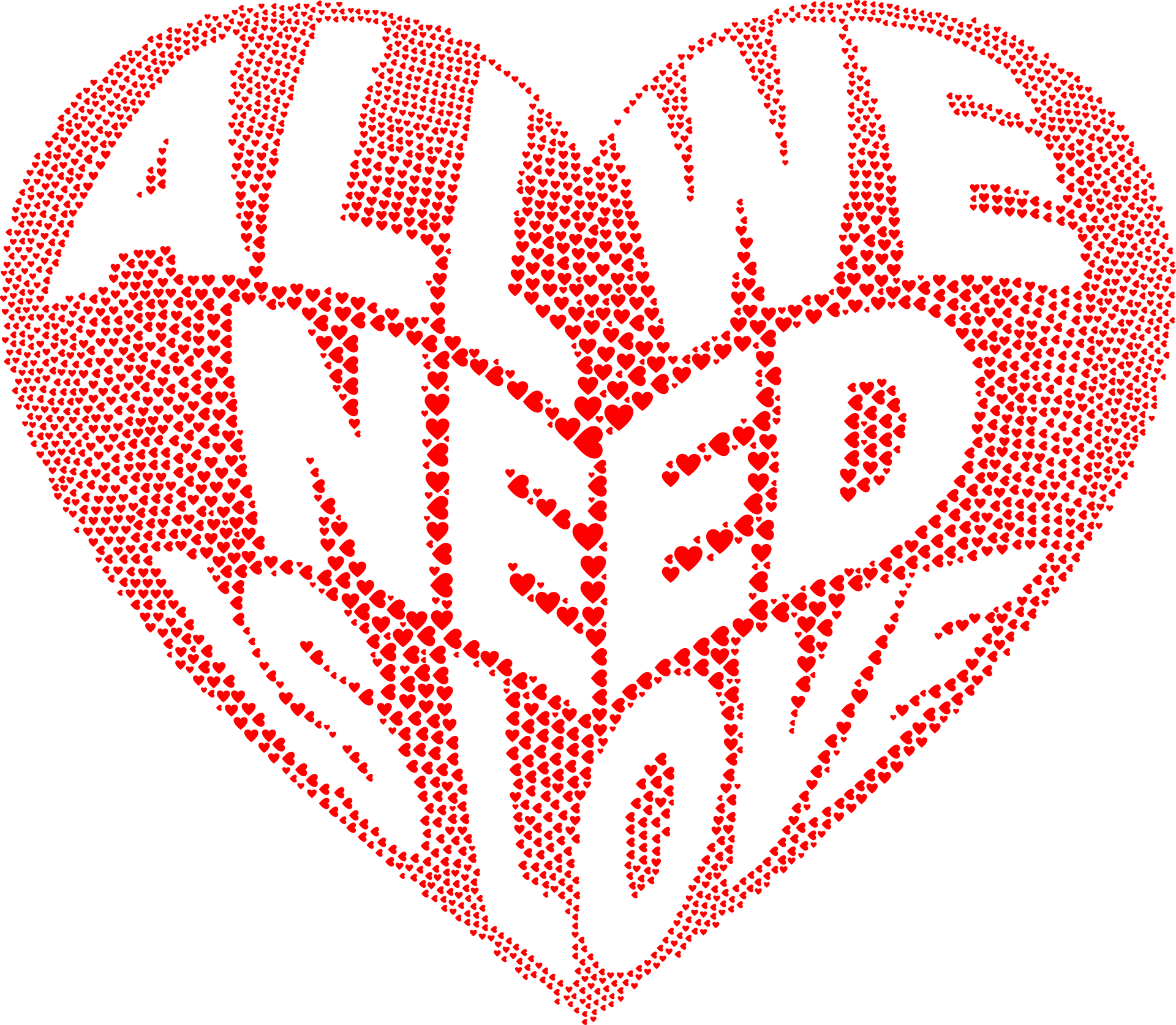 Love Heart PNG Image
