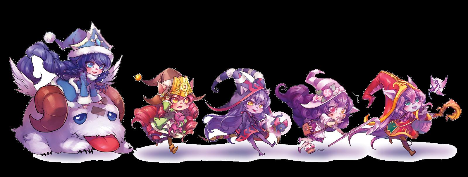 League of Legends Lulu Fan Art PNG Image